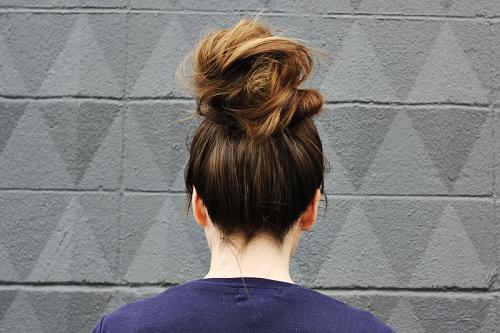 top-bun-hair-style